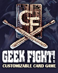 Geek Fight! Customizable Card Game